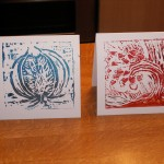 Picture of Lino print cards