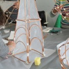 picture of a traditional willow lantern