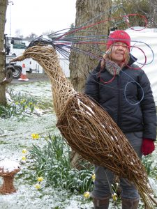 Me and my willow fantasy bird