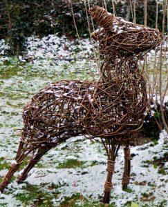 Photo of willow deer