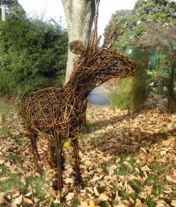 pic of small willow reindeer