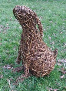 pic of willow moon gazing hare sculpture