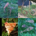 photo of willow snail, birdfeeder,