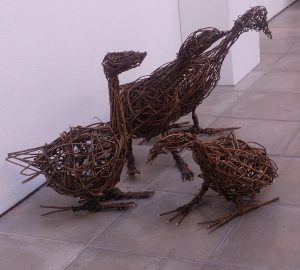 willow ducks made by students